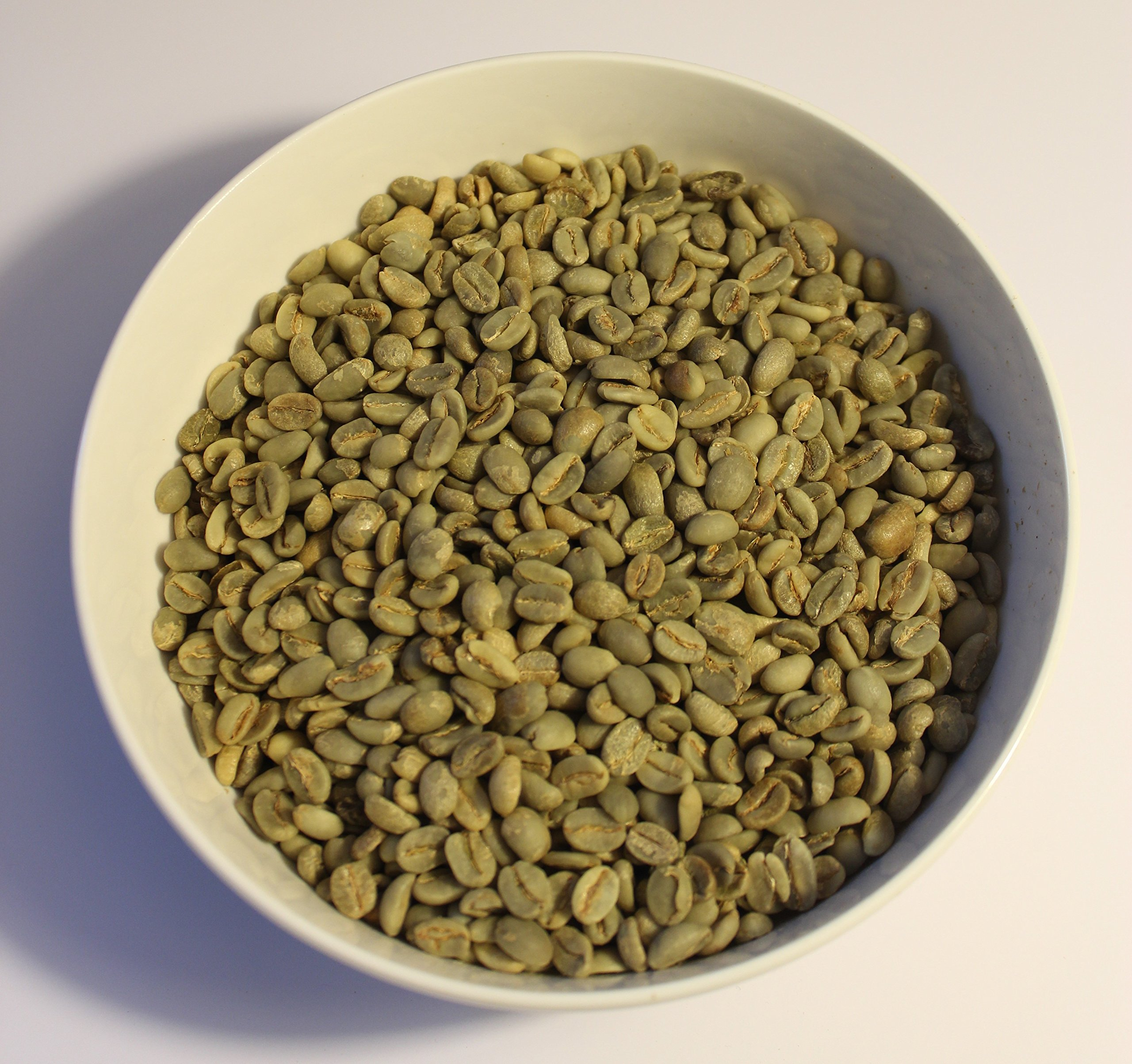 Yemen Mocca Burrai (Bura'a Mountain, Raymah) Green (Raw) Coffee Beans - Fresh Current Crop, May 8, 2018 Arrival - From North Country Roasters, (10 Pounds) by Yemen Mocca Burrai Coffere Beans (Image #1)
