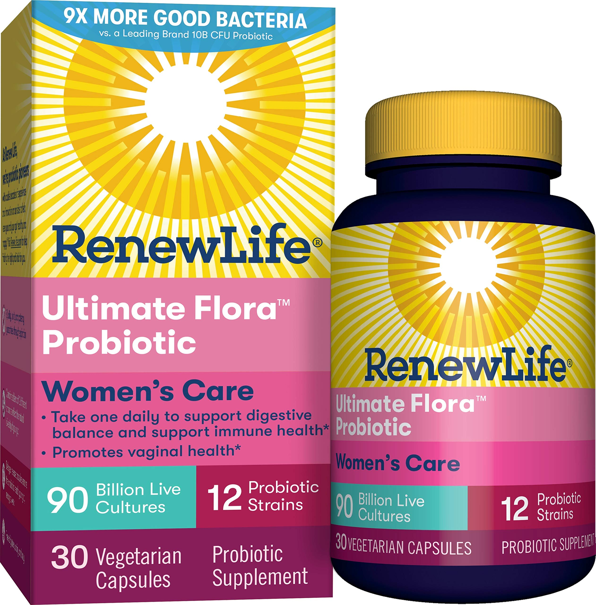 Renew Life Womens Probiotic Ultimate Flora Women S Care