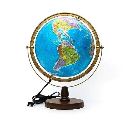 Amazon sj smart globe with illuminated constellations at night sj smart globe with illuminated constellations at night interactive globe with app clickworld detailed gumiabroncs Choice Image