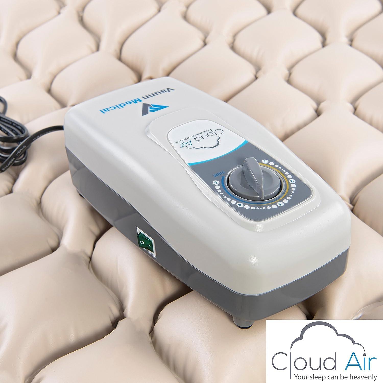 Medical Alternating Air Pressure Mattress Topper With Pump