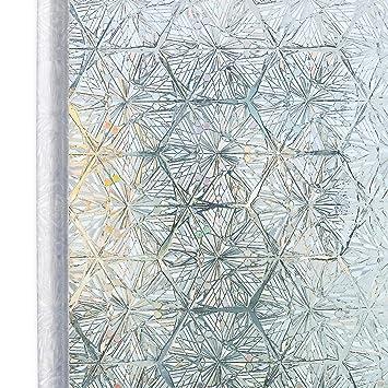 Homein Fensterfolie Selbsthaftend Klebefolie Fenster