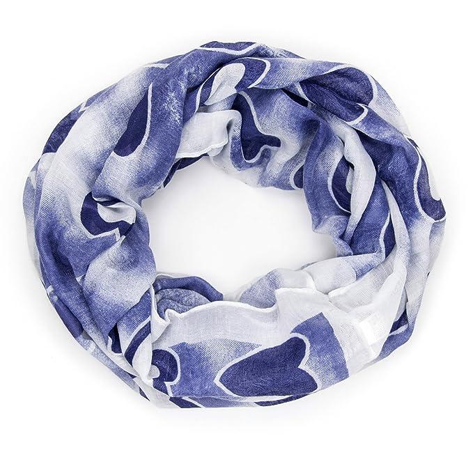 0250689e282 ManuMar Loop-écharpe pour femme