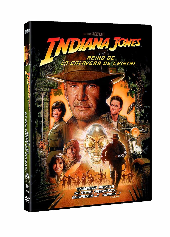 Indiana Jones y el Reino de la Calavera de Cristal DVD: Amazon.es: Harrison Ford, Karen Allen, Ray Winstone, Shia Labeouf, John Hurt, Cate Blanchett, Steven Spielberg, Harrison Ford, Karen Allen: Cine y