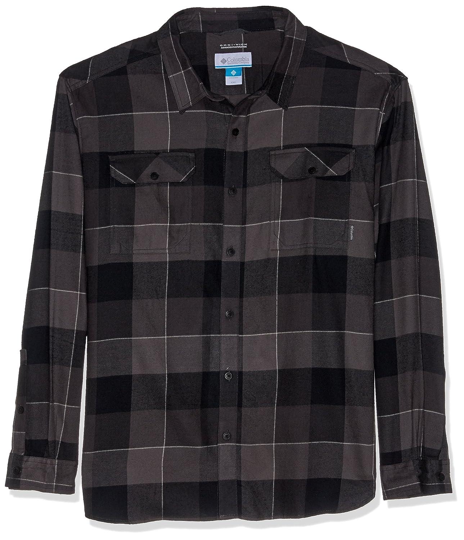 Columbia Mens Flare Gun/™ Flannel III Long Sleeve Shirt Casual Button-Down Shirts