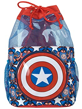 Marvel Kids Captain America Swim Bag
