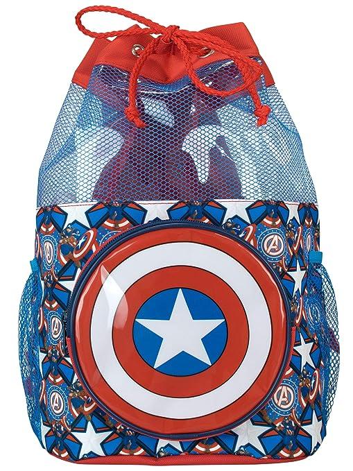 Marvel Borsa Mare per Bambini Captain America