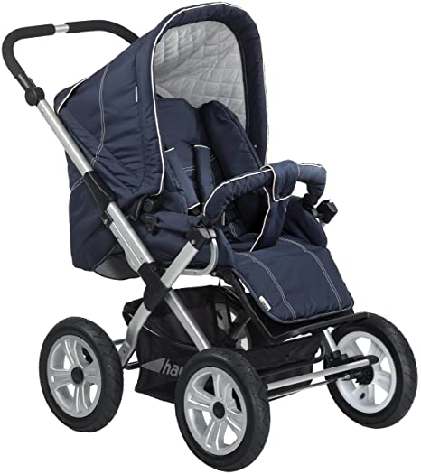 Hauck 411223 Boston Air - Carrito de bebé convertible, color azul ...