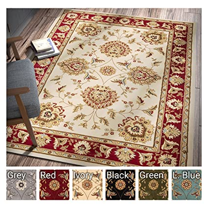 Sultan Sarouk Ivory Persian Floral Oriental Formal Traditional 3x12 27quot X 12