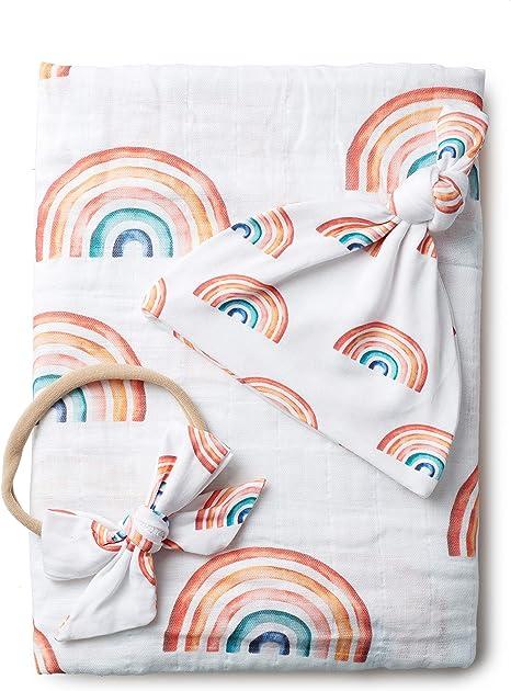 Rainbow Baby Blanket Rainbow Baby Hospital Blanket Gender Neutral Blanket