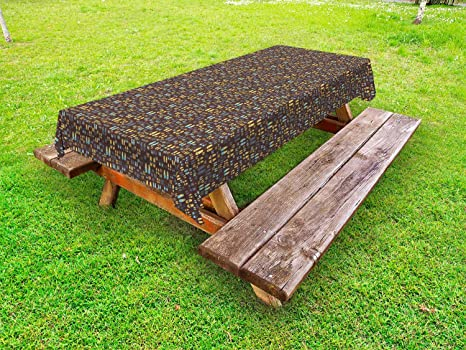 Enjoyable Amazon Com Ambesonne Flip Flop Outdoor Tablecloth Dailytribune Chair Design For Home Dailytribuneorg