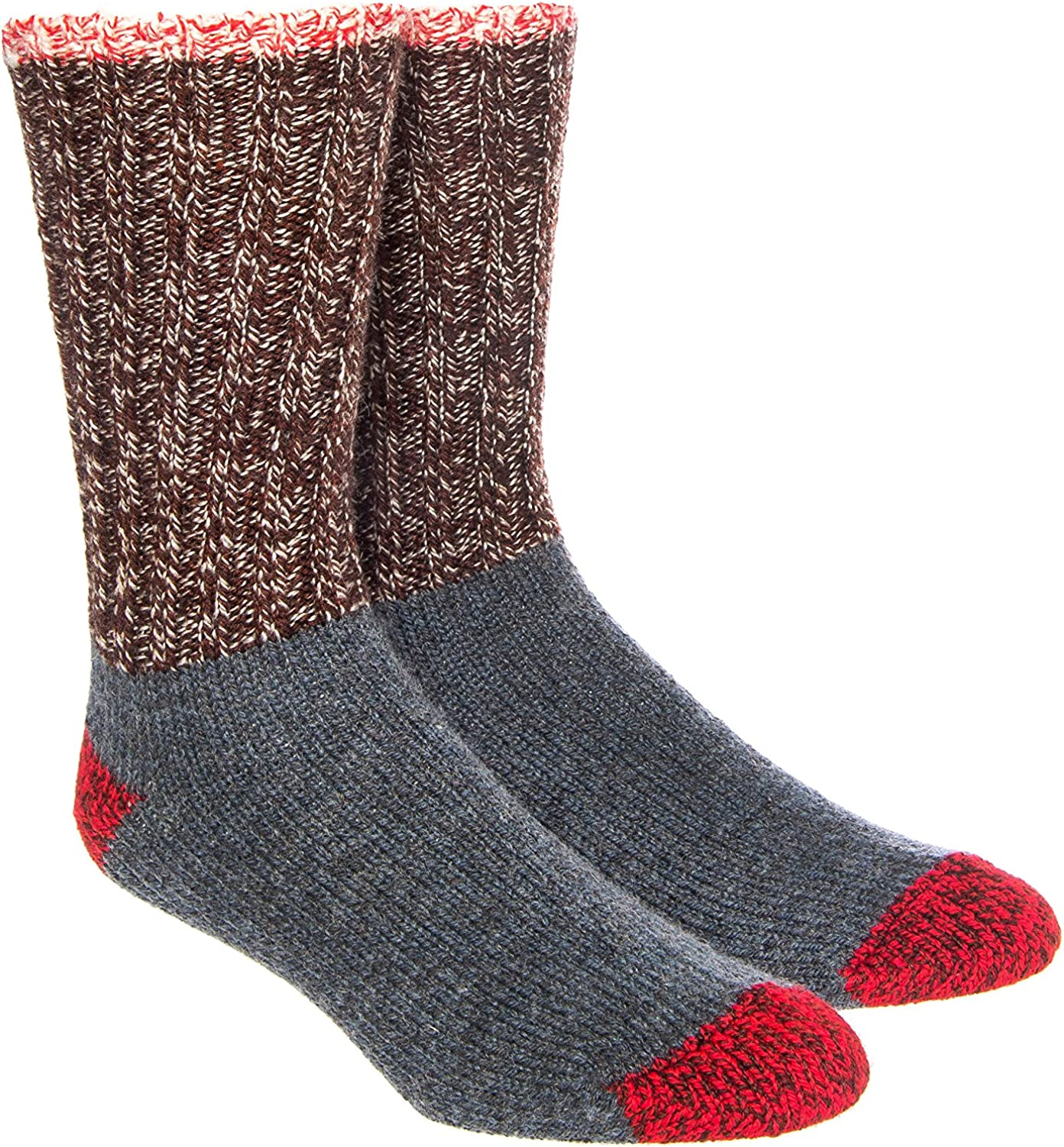 Woolrich Merino Colorblock Ragg Wool Sock