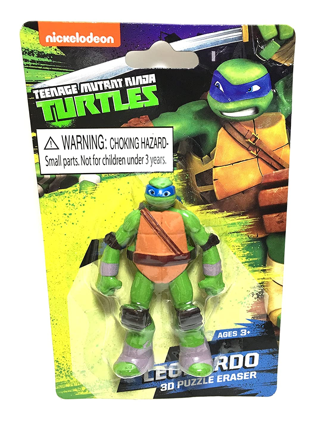 amazon com teenage mutant ninja turtles 3d puzzle eraser
