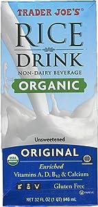 Trader Joe's Rice Drink Organic Non-Dairy Beverage 32 FL Oz