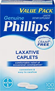 Phillips' Laxative Caplets (100-Count Box)