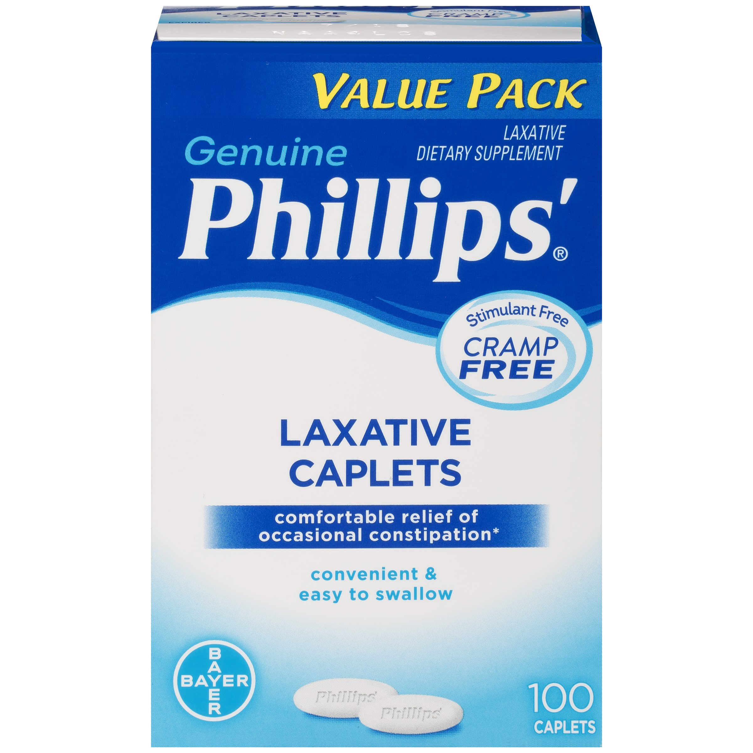 Phillips' Laxative Caplets (100-Count Box) by Phillips'