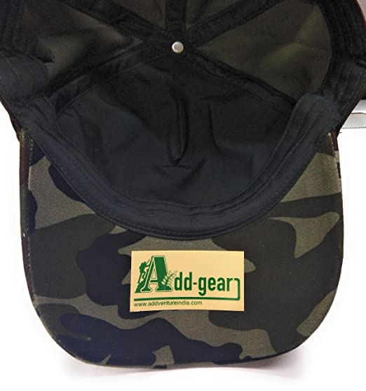 Buy Add-Venture India Army   Military Camo Cap Online at Low Prices in  India - Amazon.in 78ff33f75eb2
