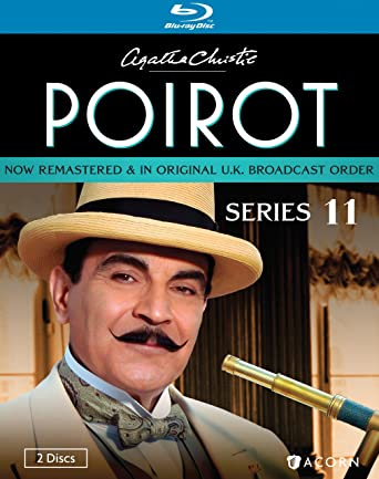 Agatha Christie S Poirot Series 11 Blu Ray David Suchet Hugh Fraser Philip Jackson Pauline Moran Movies Tv