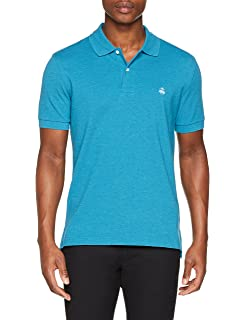 BROOKS BROTHERS Polo Slim Logo Manica Corta Hombre: Amazon.es ...