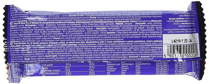 Olimp Sport Nutrition Matrix Pro 32 Proteína Batido, Sabor Doble Chocolate Negro - 20 Unidades: Amazon.es: Salud y cuidado personal