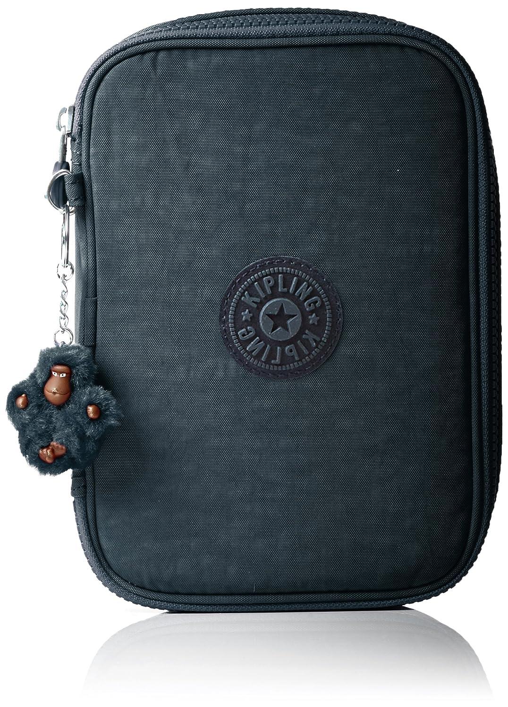 Kipling 100 PENS Estuches, 21 cm, 1.5 liters, Azul (True Jeans) K09405D24