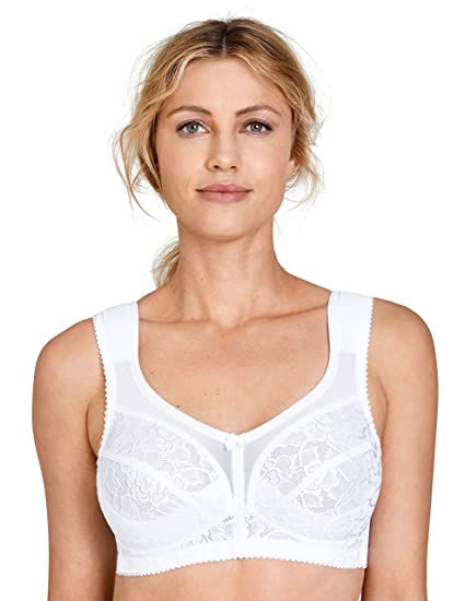 ad072541f5043 Miss Mary of Sweden Queen Non-Wired Bra  Amazon.co.uk  Clothing