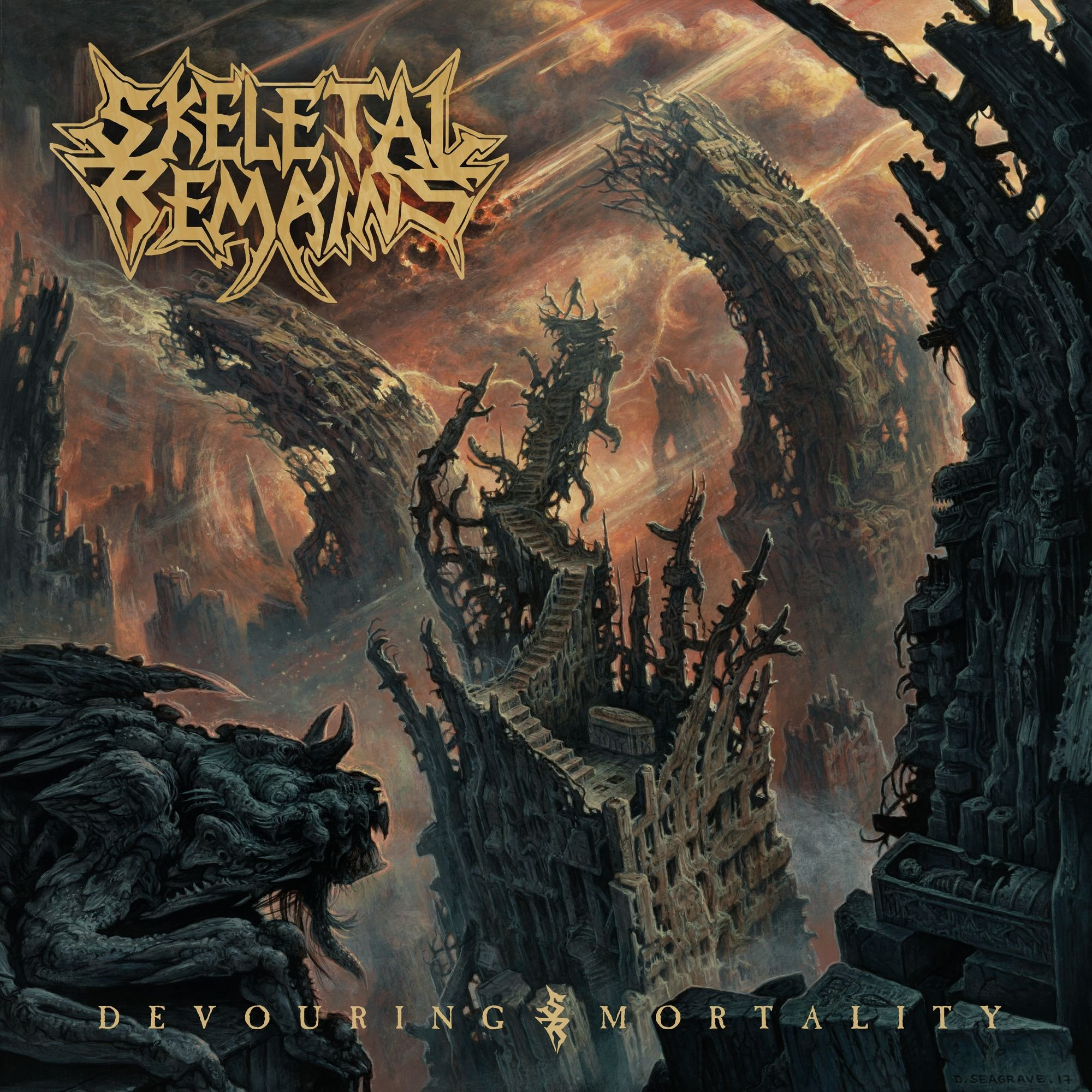 CD : Skeletal Remains - Devouring Mortality (CD)