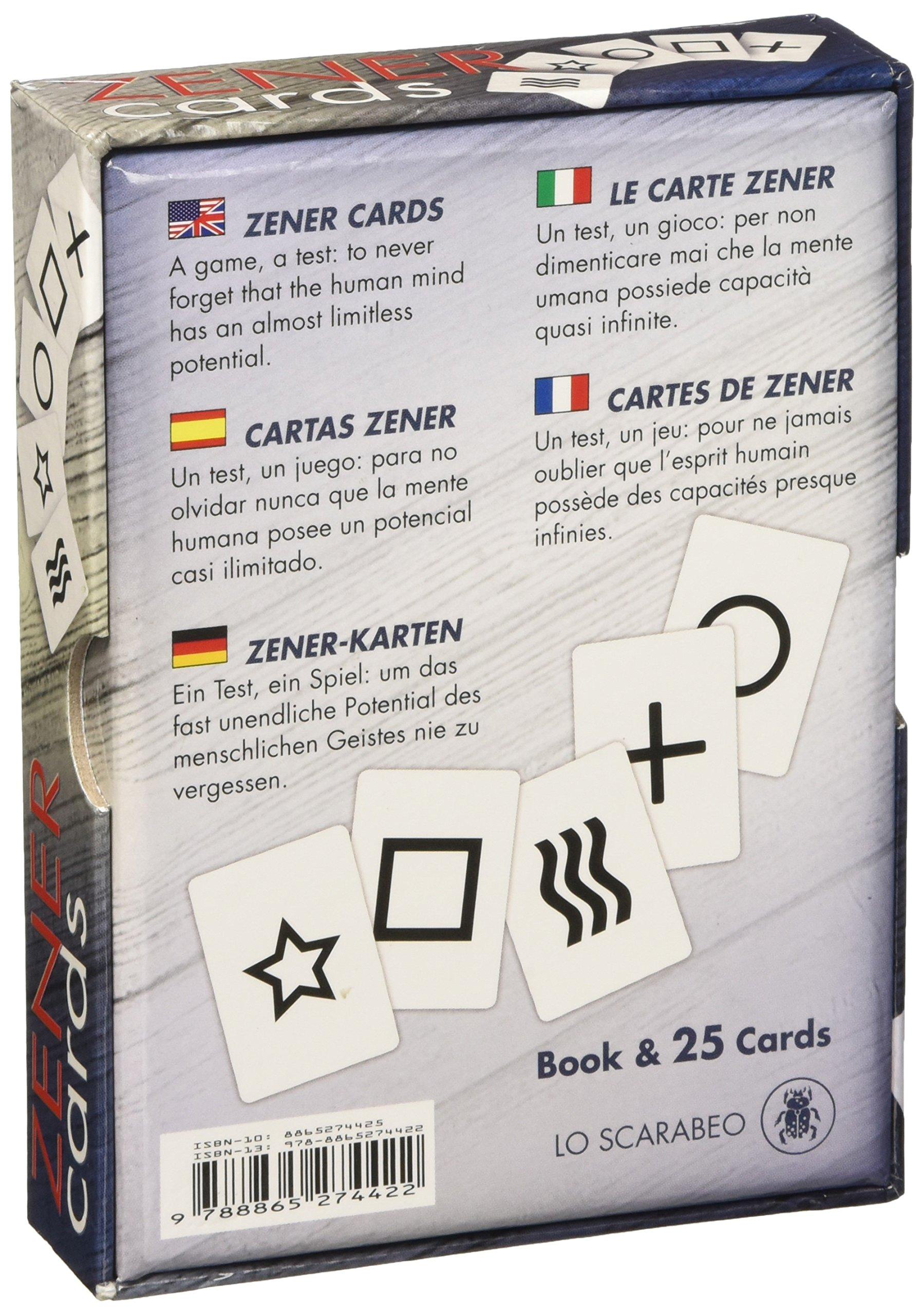Zener cards. Ediz. multilingue. Con Carte: Amazon.es ...