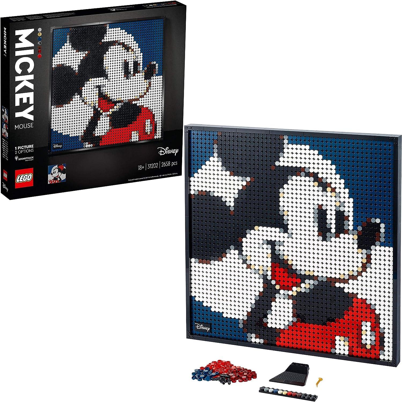 レゴ(LEGO) レゴアート ディズニー:ミッキーマウス 31202