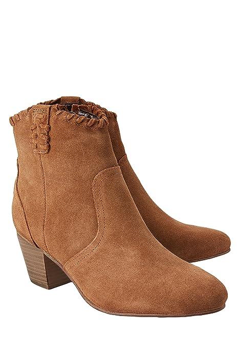 next Mujer Botines Estilo Western Estampado De Leopardo 43 EU: Amazon.es: Zapatos y complementos