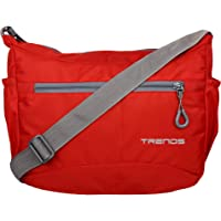 Trends Light Weight Unisex Sling Bag (Red])