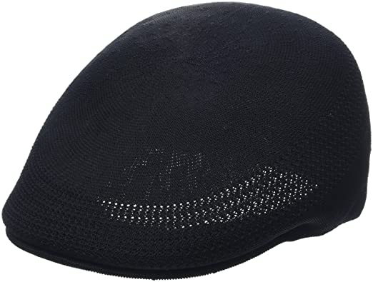99e640bcd835f Kangol Womens Unisex-Adult K3208HT Tropic 507 Ventair Ivy Cap Cap - Black -  Small
