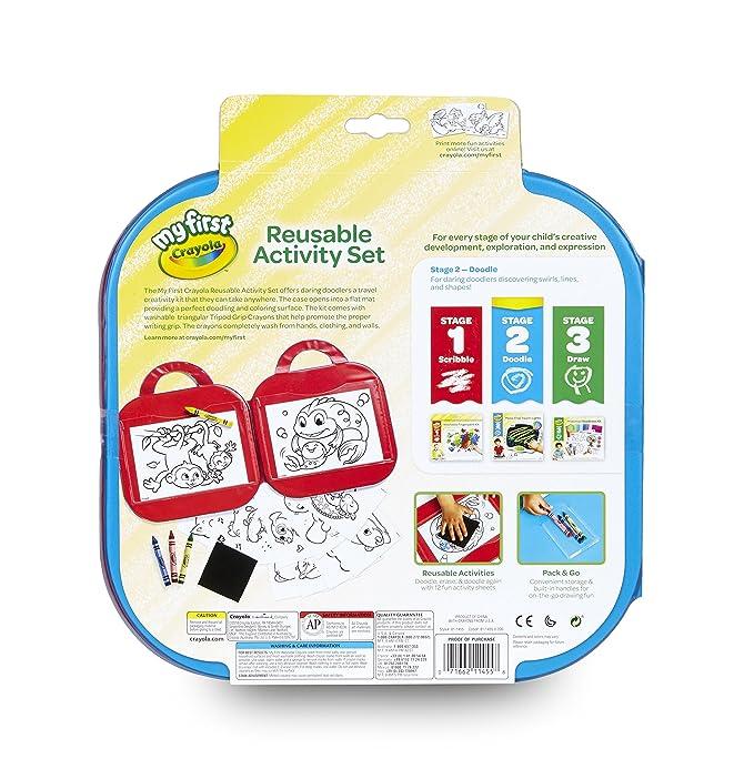 Crayola My First Reusable Activity Kit: Amazon.com.mx: Juegos y juguetes
