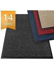 etm Dirt Trapper Door Mat - Barrier Mat   Indoor and Outdoor Mats for Front Door   Super Absorbent & Non-Slip Doormats   Anthracite/Mottled - 60x90cm