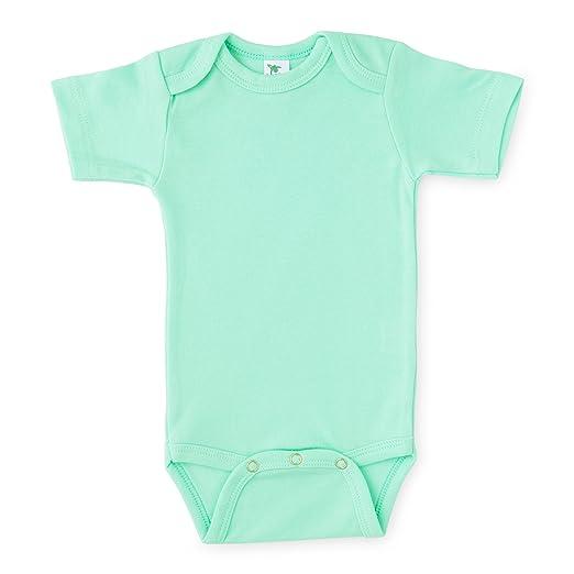 dafbaf28b48 Amazon.com  Laughing Giraffe Baby Unisex Plain Blank Solid Cotton ...