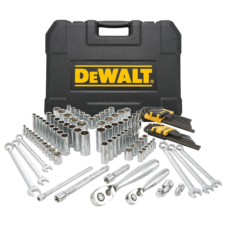 dewalt dwmt72163 118 piece mechanics tool set amazon com