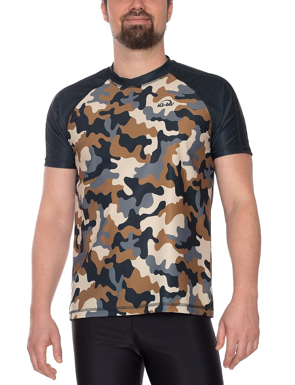 IQ-UV Herren Uv Shirt Loose Fit Farbeido T