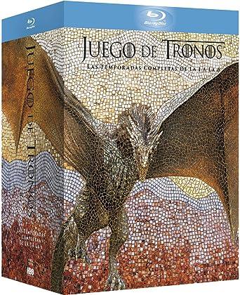 Juego De Tronos Temporada 1-6 Premium Blu-Ray Blu-ray: Amazon.es ...