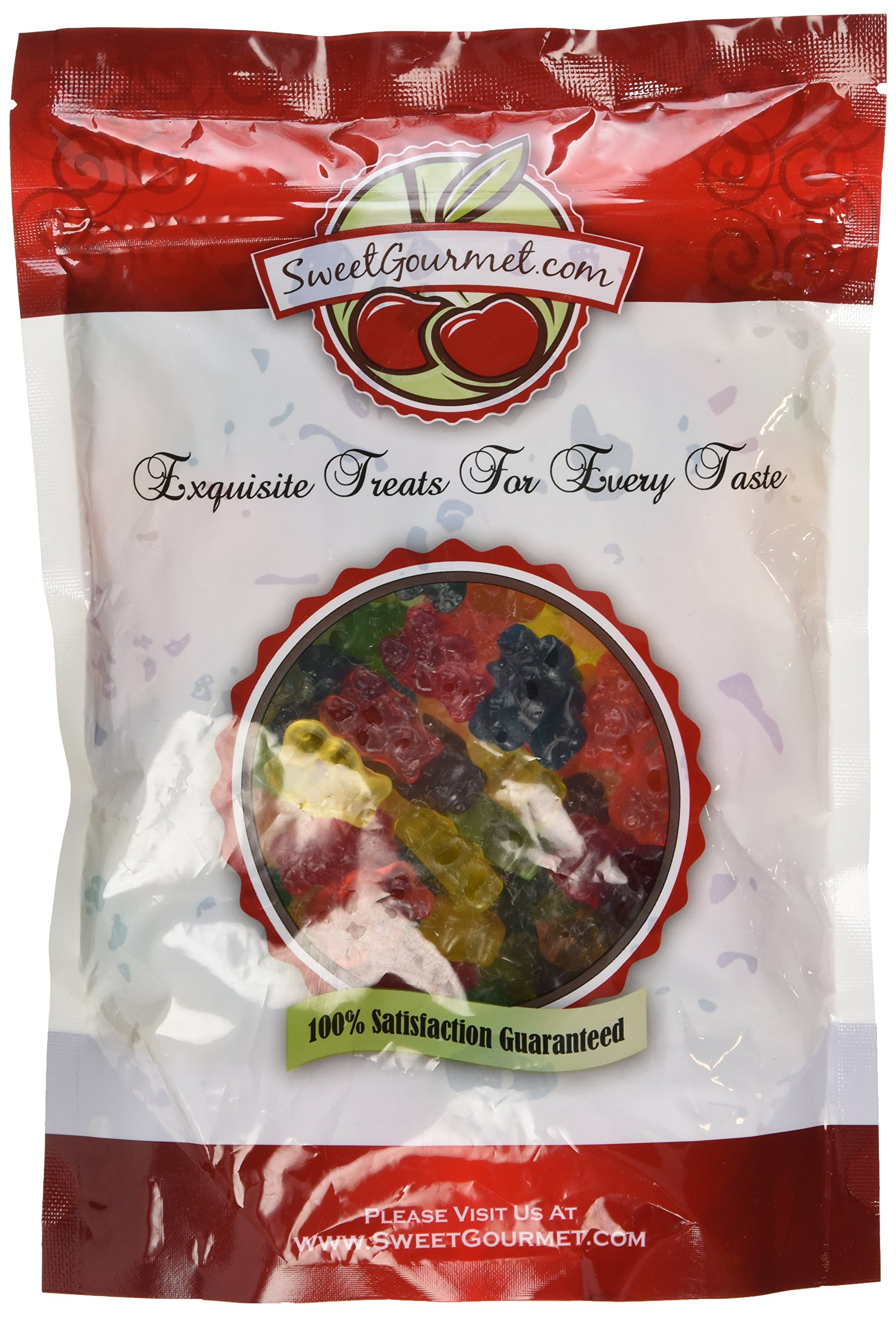 Albanese Assorted Gummi Bears 12 Flavor , 1.5 LB by Albanese [Foods]