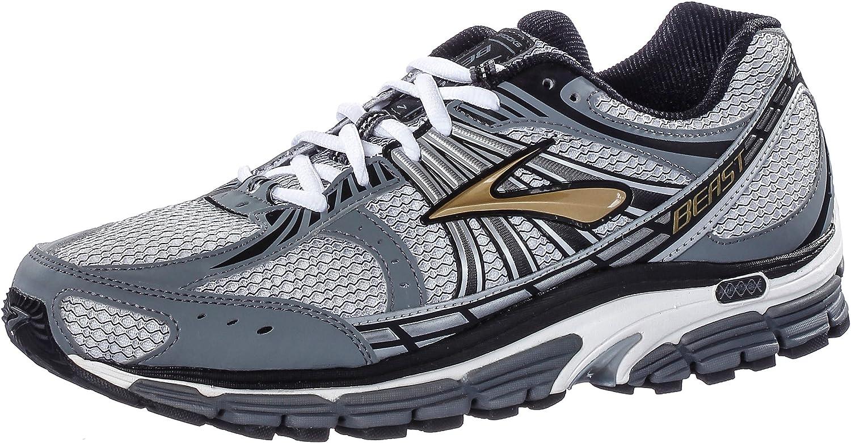 Brooks Beast 12 Running Shoes - 12 Grey