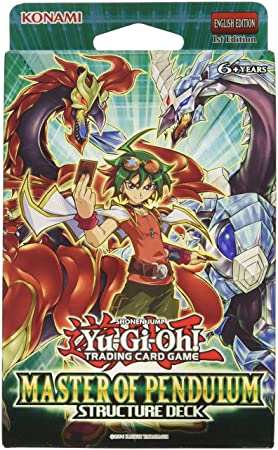 Yu- Gi -Oh! Número 29 Maestro de Péndulo Estructura Card Deck Juego