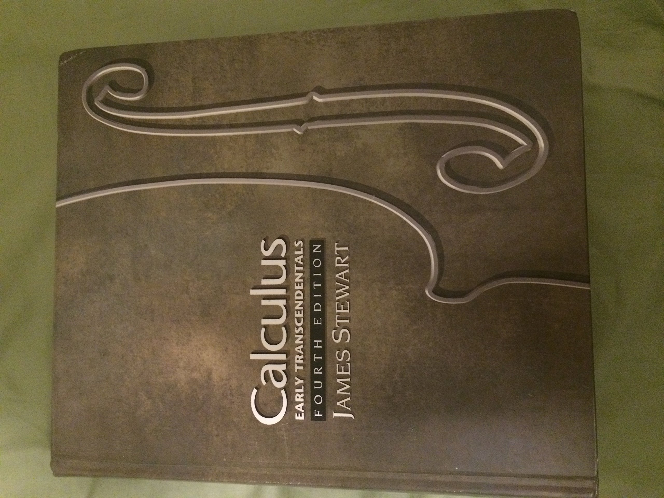 By James Stewart - Calculus, Early Transcendentals: 4th (fourth) Edition: James  Stewart: 8580000869743: Amazon.com: Books