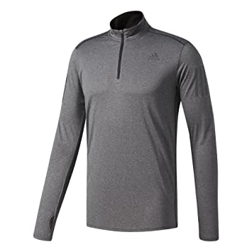 adidas RS LS Zip tee M Camiseta de Manga Larga, Hombre: Amazon.es: Deportes y aire libre