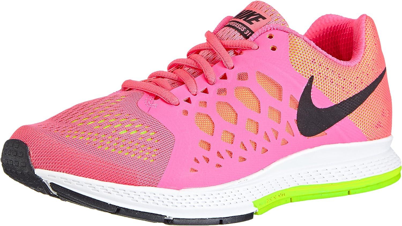 Nike Air Zoom Pegasus 31 - Zapatillas de Running de Material sintético Mujer, Color Rosa, Talla 36: Amazon.es: Zapatos y complementos