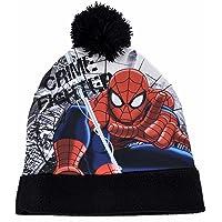 Spider Man M94283 MC - Cappello con Risvolto Spiderman, Multicolore