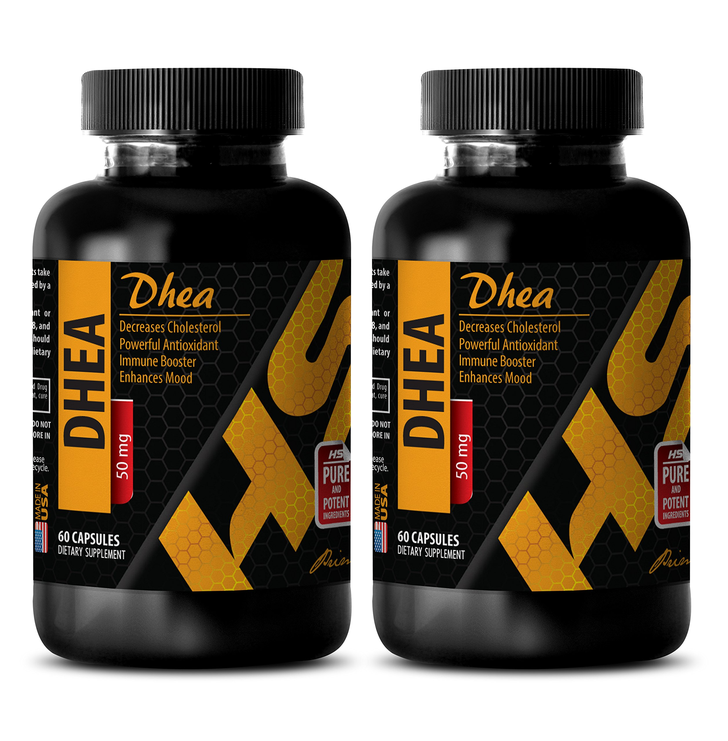 Weight loss pills - DHEA - Dhea energy - 2 Bottles 120 Capsules