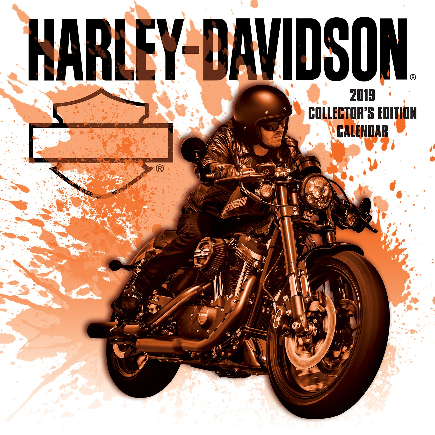 2019 harley davidson collectors edition calendar