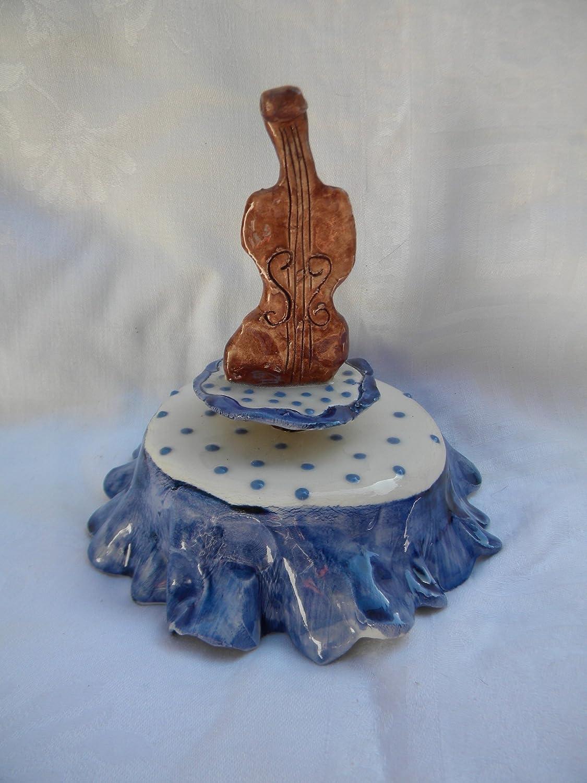 【楽天ランキング1位】 B00A0ZB2AC Fiddlerwhimsiclay-vintageハンドメイドオリジナルMusicbox Fiddler B00A0ZB2AC, タマガワムラ:3fb42329 --- arcego.dominiotemporario.com