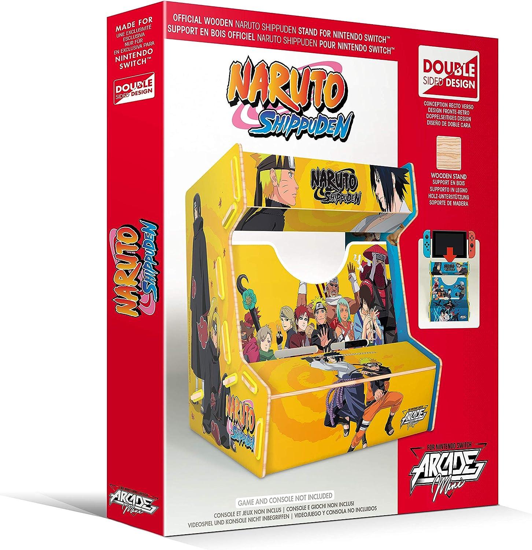 Meridiem Games - Naruto Arcade Mini (Nintendo Switch): Amazon.es ...
