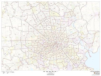 Amazon.com : Harris County, Texas Zip Codes - 48