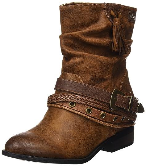 9314bb6a MTNG Wendy, Botas Cortas Mujer, Marrón (Karma Cuero), 41 EU: Amazon.es:  Zapatos y complementos